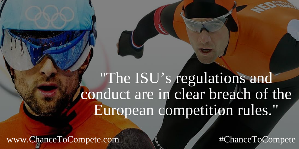 Antitrust: Commission sends Statement of Objections to International Skating Union on its eligibility rules